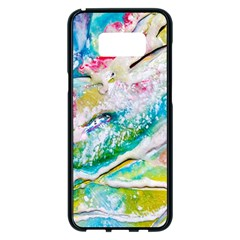 Art Abstract Abstract Art Samsung Galaxy S8 Plus Black Seamless Case