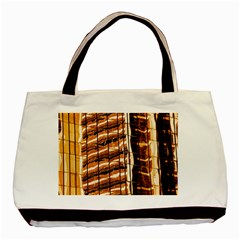 Abstract Architecture Background Basic Tote Bag (two Sides)