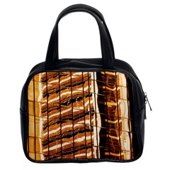 Abstract Architecture Background Classic Handbags (2 Sides)