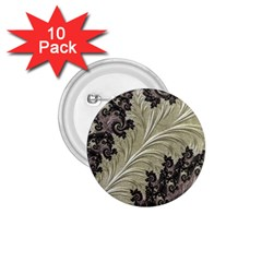 Pattern Decoration Retro 1 75  Buttons (10 Pack)