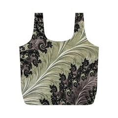 Pattern Decoration Retro Full Print Recycle Bags (m)