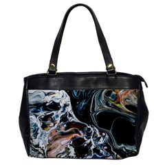 Abstract Flow River Black Office Handbags