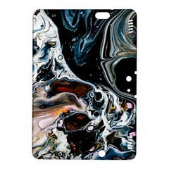 Abstract Flow River Black Kindle Fire Hdx 8 9  Hardshell Case