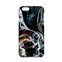 Abstract Flow River Black Apple Iphone 6/6s Hardshell Case
