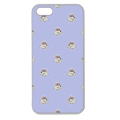 Monster Rats Hand Draw Illustration Pattern Apple Seamless Iphone 5 Case (clear)