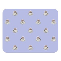 Monster Rats Hand Draw Illustration Pattern Double Sided Flano Blanket (large)