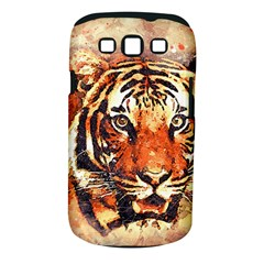 Tiger Portrait Art Abstract Samsung Galaxy S Iii Classic Hardshell Case (pc+silicone)