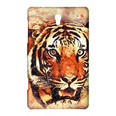 Tiger Portrait Art Abstract Samsung Galaxy Tab S (8 4 ) Hardshell Case