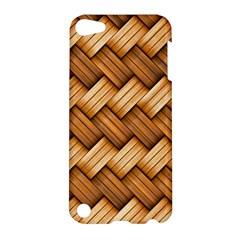Basket Fibers Basket Texture Braid Apple Ipod Touch 5 Hardshell Case