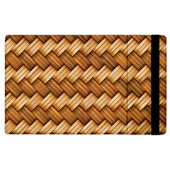 Basket Fibers Basket Texture Braid Apple Ipad 3/4 Flip Case