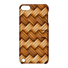 Basket Fibers Basket Texture Braid Apple Ipod Touch 5 Hardshell Case With Stand