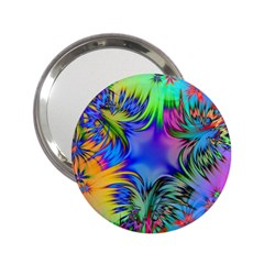 Star Abstract Colorful Fireworks 2 25  Handbag Mirrors