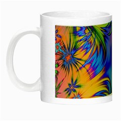 Star Abstract Colorful Fireworks Night Luminous Mugs