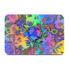 Star Abstract Colorful Fireworks Plate Mats