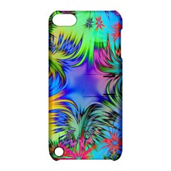 Star Abstract Colorful Fireworks Apple Ipod Touch 5 Hardshell Case With Stand