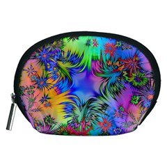 Star Abstract Colorful Fireworks Accessory Pouches (medium)