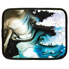 Abstract Painting Background Modern Netbook Case (xxl)