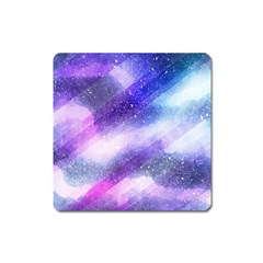 Background Art Abstract Watercolor Square Magnet