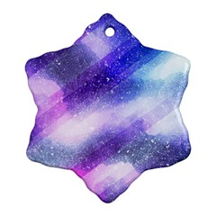 Background Art Abstract Watercolor Ornament (snowflake)