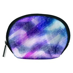 Background Art Abstract Watercolor Accessory Pouches (medium)