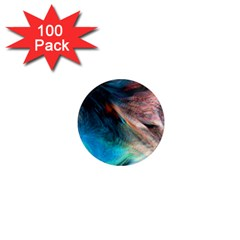 Background Art Abstract Watercolor 1  Mini Magnets (100 Pack)
