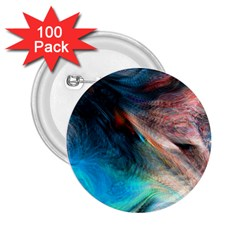 Background Art Abstract Watercolor 2 25  Buttons (100 Pack)