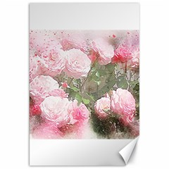 Flowers Roses Art Abstract Nature Canvas 20  X 30