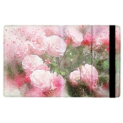 Flowers Roses Art Abstract Nature Apple Ipad 3/4 Flip Case