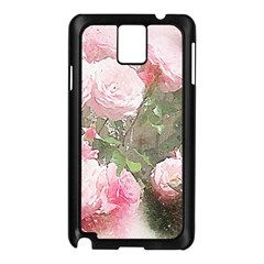 Flowers Roses Art Abstract Nature Samsung Galaxy Note 3 N9005 Case (black)