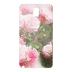 Flowers Roses Art Abstract Nature Samsung Galaxy Note 3 N9005 Hardshell Back Case