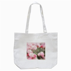 Flowers Roses Art Abstract Nature Tote Bag (white)