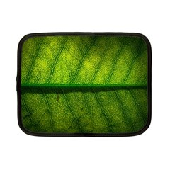 Leaf Nature Green The Leaves Netbook Case (small)