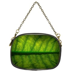 Leaf Nature Green The Leaves Chain Purses (two Sides)