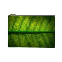 Leaf Nature Green The Leaves Cosmetic Bag (large)