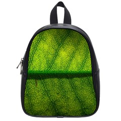 Leaf Nature Green The Leaves School Bag (small)