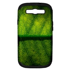 Leaf Nature Green The Leaves Samsung Galaxy S Iii Hardshell Case (pc+silicone)