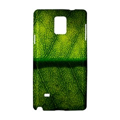 Leaf Nature Green The Leaves Samsung Galaxy Note 4 Hardshell Case