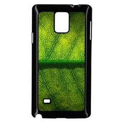 Leaf Nature Green The Leaves Samsung Galaxy Note 4 Case (black)
