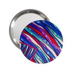 Texture Pattern Fabric Natural 2 25  Handbag Mirrors