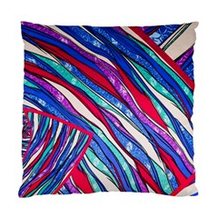 Texture Pattern Fabric Natural Standard Cushion Case (one Side)