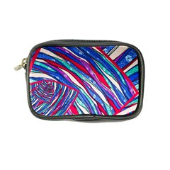 Texture Pattern Fabric Natural Coin Purse