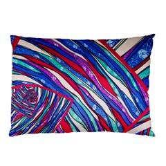 Texture Pattern Fabric Natural Pillow Case (two Sides)
