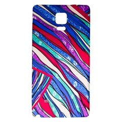 Texture Pattern Fabric Natural Galaxy Note 4 Back Case