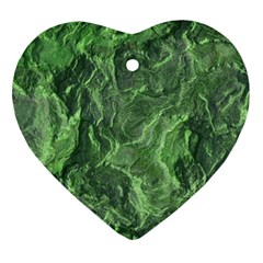 Geological Surface Background Ornament (heart)