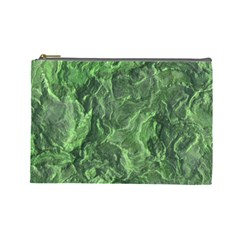 Geological Surface Background Cosmetic Bag (large)
