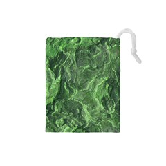 Geological Surface Background Drawstring Pouches (small)