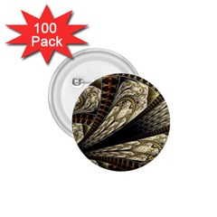 Fractal Abstract Pattern Spiritual 1 75  Buttons (100 Pack)