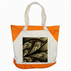 Fractal Abstract Pattern Spiritual Accent Tote Bag