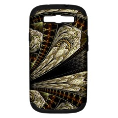 Fractal Abstract Pattern Spiritual Samsung Galaxy S Iii Hardshell Case (pc+silicone)