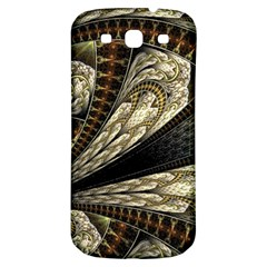 Fractal Abstract Pattern Spiritual Samsung Galaxy S3 S Iii Classic Hardshell Back Case
